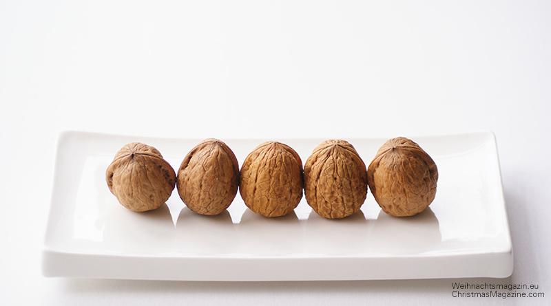 walnuts on a dish