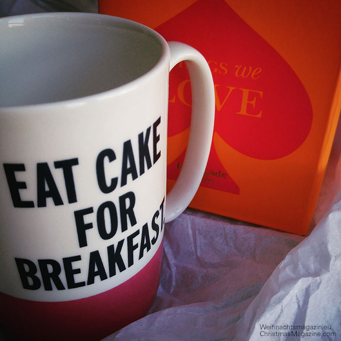 eat cake for breakfast - Kate Spade