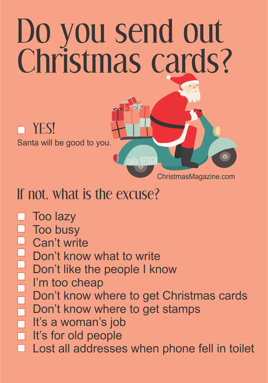 Do You Write Christmas Cards – Christmas Magazine