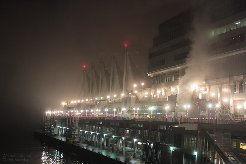 Cruise ship terminal at Canada Place