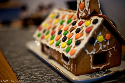 a most wonderful gingerbread house