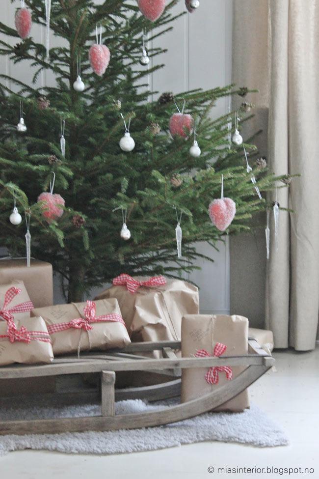 Mia's interior Christmas tree