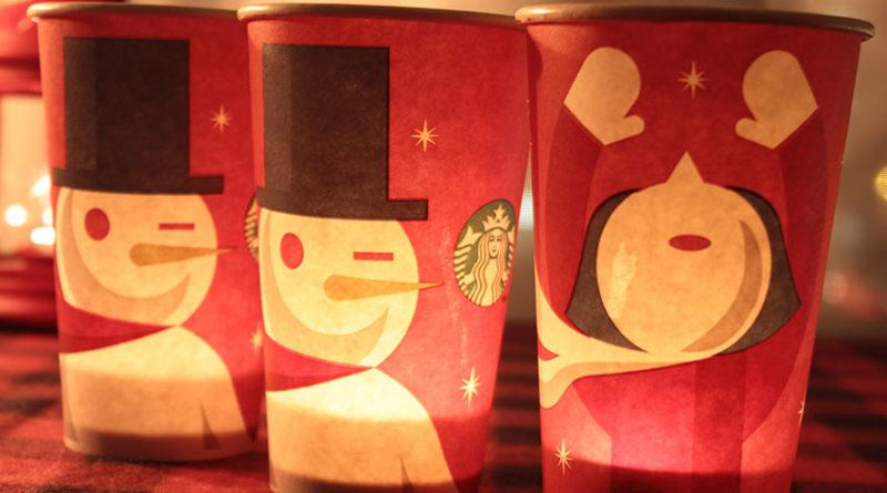 lovely Starbucks lantern
