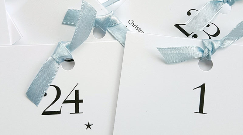 activity Advent calendar, Christmas countdown, PDF