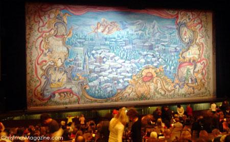 Nutcracker stage at QE Theatre