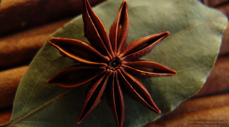 star anise, Christmas fragrance, potpourri