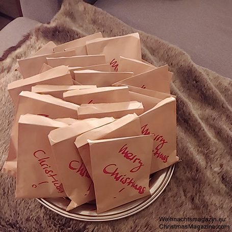 chocolate goody bags