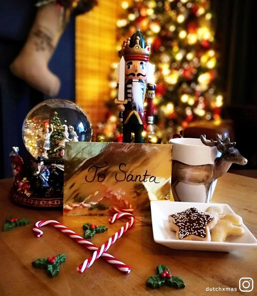 letter to Santa, nutcracker, Christmas tree, cookies